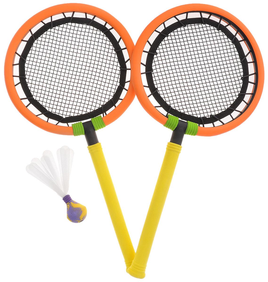 Safsof Safsof Набор для игры в бадминтон цвет оранжевый желтый