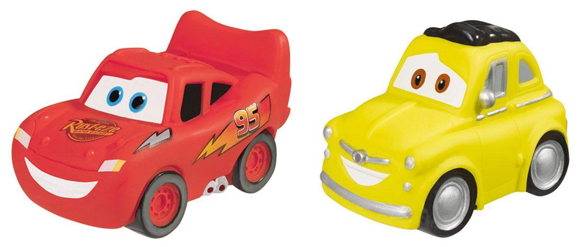 Simba Набор игрушек для ванны Тачки цвет красный желтый7056875_красный/желтыйНабор игрушек для ванны Тачки обязательно порадует вашего малыша и превратит купание в увлекательную игру. Герои любимого мультфильма сошли с экрана, чтобы радовать вашего ребенка не только во время увлекательного просмотра, но и в процессе купания. Зажигательный Молния МакКуин и очаровательный Мэтр развеселят малыша неожиданными, но приятными брызгами, и водные процедуры каждый раз будут сопровождаться радостным детским смехом. Игрушка предназначена для сюжетно-ролевых игр, развития внимания, координации движений и логического мышления.