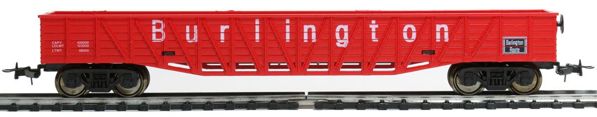 Mehano Гондола железнодорожная BurlingtonT073Гондола железнодорожная Mehano New York Central выполнена на высочайшем уровне с мелкими деталями и в точной раскраске железной дороги определенного периода времени. Корпус модели железнодорожной гондолы выполнен из пластика, колеса выполнены из металла. Модель высоко детализирована и окрашена в соответствии со своим реальным прототипом. Гондола имеет два пластиковых крепления, благодаря которым вы сможете соединить вагончики в железнодорожный состав. Коллекционная модель станет не только интересной игрушкой для ребенка, интересующегося поездами, но и займет достойное место в любой коллекции. Модель совместима с железными дорогами и поездами Mehano. Оставаясь одной из наиболее желанных игрушек для большинства мальчишек и даже взрослых коллекционеров, железная дорога Mehano неподвластна влиянию моды и времени. Для сторонников технологических новинок создаются модели современных скоростных составов, а ценители истории могут выбрать подходящий комплект, в точности...