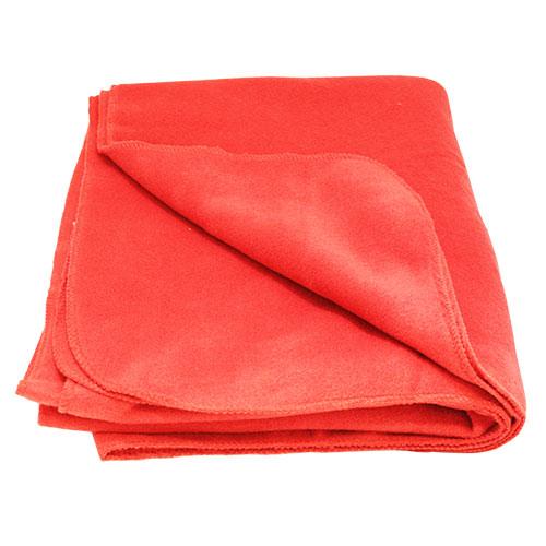 Плед FLEECE Classic, цвет: красный. 130х150смТК112Плед для пикников, праздников на природе будут не заменимы в походах