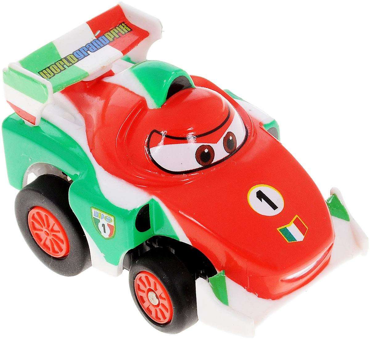 Dickie Toys Машина на инфракрасном управлении Тачки Francesco3089513_FrancescoМашинка на инфракрасном управлении Dickie Toys Тачки: Francesco - это полная копия полюбившегося героя мультсериала Тачки Франческо Бернулли. Игрушка может двигаться вперед, дает задний ход, поворачивает влево и вправо, останавливается.Точная настройка управления, 2 скорости, подзарядка от пульта дистанционного управления сделают игру комфортной и увлекательной. Машинка на инфракрасном управлении Dickie Toys Тачки: Francesco станет отличным подарком поклоннику этого популярного мультфильма! Игрушка работает от встроенного аккумулятора. Для работы пульта управления необходимы 4 батарейки типа ААА (не входят в комплект).