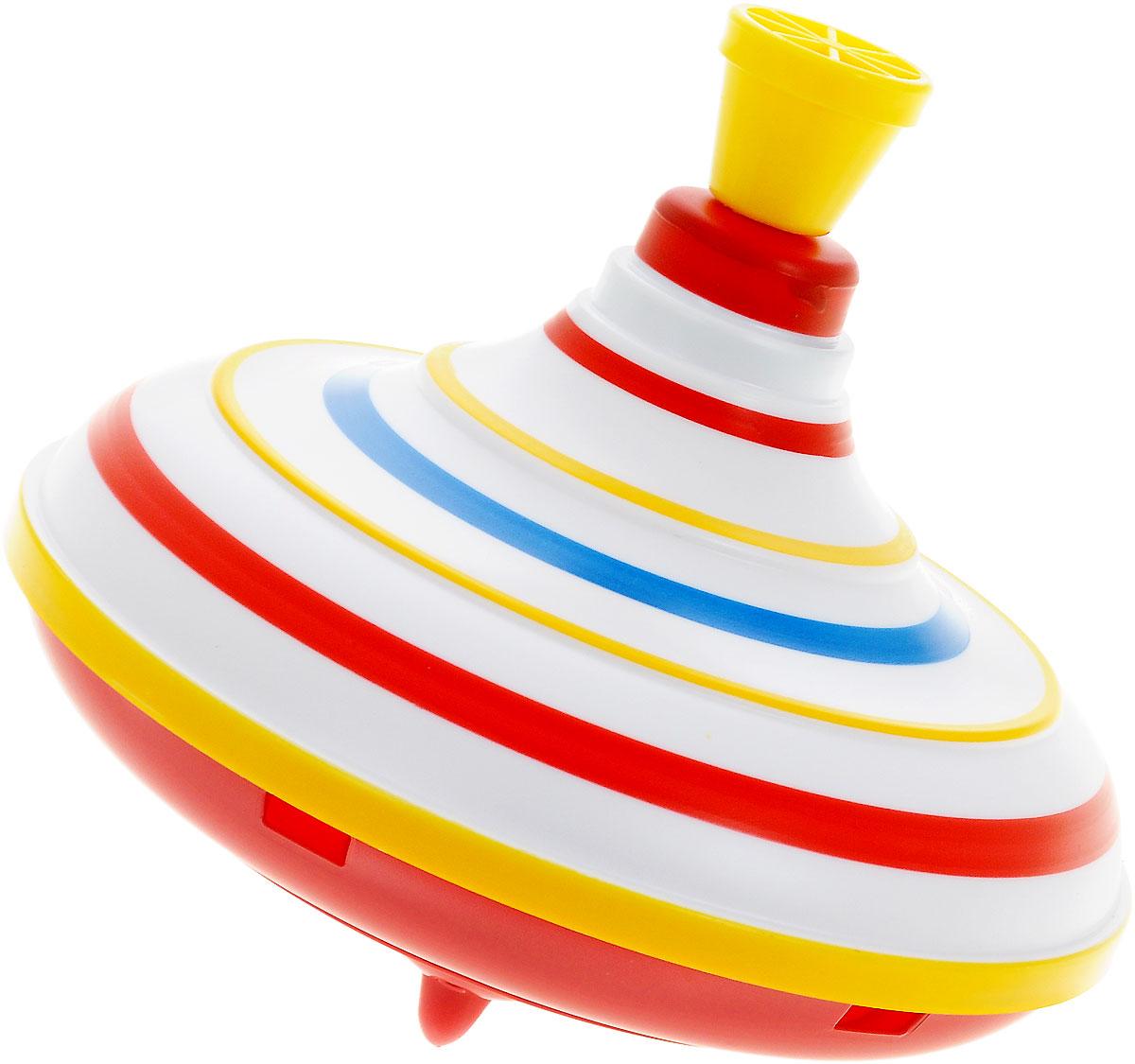Stellar Юла цвет желтый красный1317_красный, желтыйЮла Stellar станет для вашего малыша любимой игрушкой. Юла выполнена из безопасного пластика в яркой цветовой гамме и оформлена цветными полосками. Раскручивается юла посредством нажатия на ручку. Юла - динамическая игрушка для самых маленьких, которая стимулирует познавательную активность, развивает наглядно-действенное мышление, координацию движений и мелкую моторику рук. Порадуйте своего непоседу таким великолепным подарком!