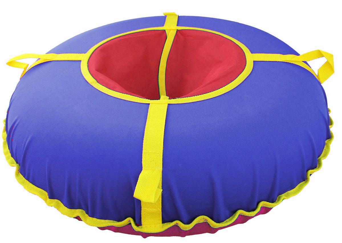 "Super Jet Tubing Тюбинг Super Jet Tubing ""Ultra"", цвет: красный, синий, желтый, диаметр 75 см"