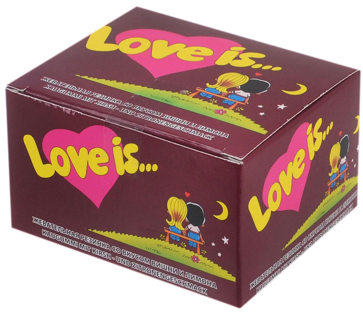 Love is Жевательная резинка, вишня-лимон, 20 шт ( 4640000277901 )
