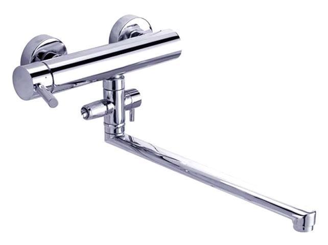 Смеситель для ванны/душа Gro Welle ДИ Wassermelone. WSM722WSM722Смеситель для ванны и душа Gro Welle Wassermelone сочетает в себе отличные эксплуатационные характеристики и оригинальный дизайн. Керамический картридж Sedal 35 мм (Испания) - надежный рабочий элемент, выдерживающий давление более 3,5 Атм. Рассчитан на беспрерывную работу в 1500000 циклов - это примерно 30 лет эксплуатации. Аэратор Neoperl Cascade (США) изготовлен из высококачественного пластика, благодаря чему на нем не образуется налет. Водная струя насыщается воздухом, становится ровной и без брызг. Тело смесителя отлито из высококачественной, безопасной для здоровья пищевой латуни. Хромоникелевое покрытие Crystallight придает изделию яркий металлический блеск и эстетичный внешний вид. Имеет водоотталкивающие свойства, благодаря которым защищает тело смесителя. Устойчив к кислотным и щелочным чистящим средствам. Смеситель Gro Welle Wassermelone эргономичен, прост в монтаже и удобен в использовании. В комплект входит: смеситель, набор для...