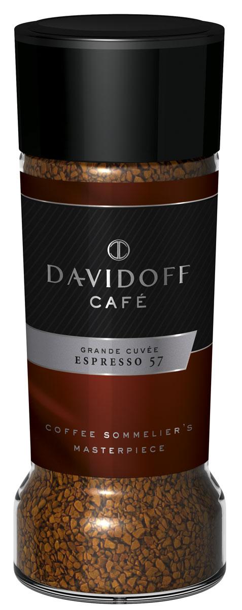 Davidoff 57 Espresso кофе растворимый, 100 г464389Отборные зерна арабики африканских, латиноамериканских и тихоокеанских сортов соединили, обжарили до нужной кондиции, и вот уже Davidoff Cafe Espresso 57 ожидает вашего внимания. Название Espresso 57 отсылает к особому процессу обжарки зерен, в котором долговременная обработка сочетается с тщательным контролем за температурным режимом. Лишь мастера кофейного искусства могут гарантировать высочайшее качество, и эксперты Davidoff именно такие. Результат - насыщенный, изысканный, богатый во всех отношениях роскошный кофе эспрессо.