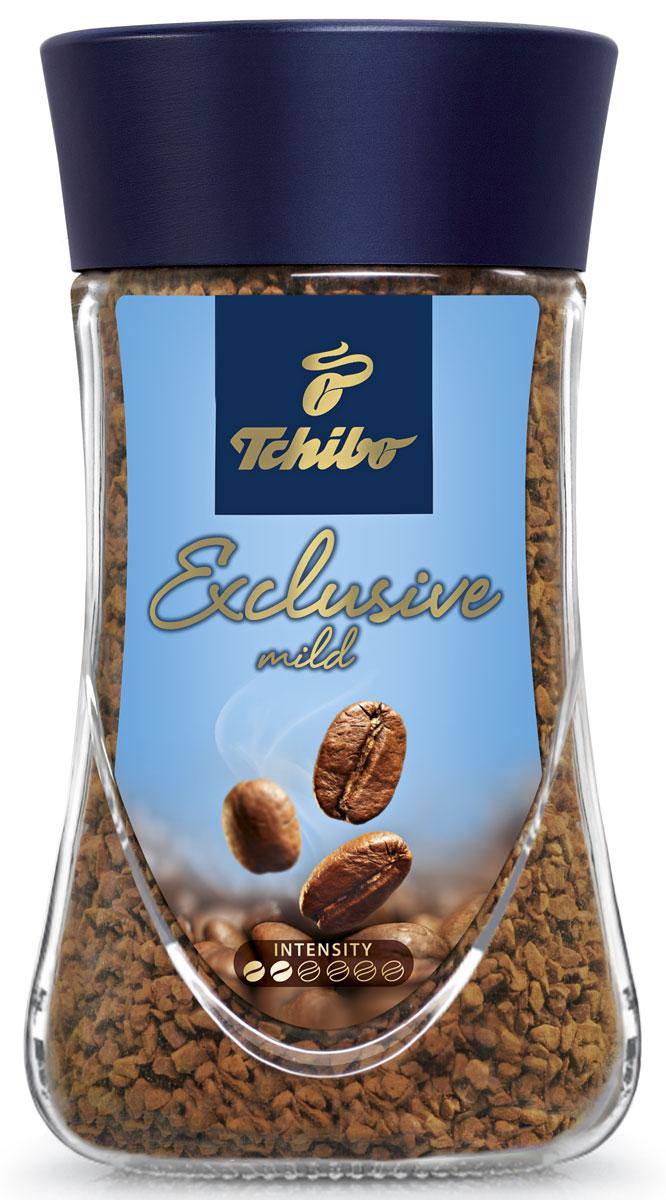 Tchibo Exclusive Mild кофе растворимый, 95 г