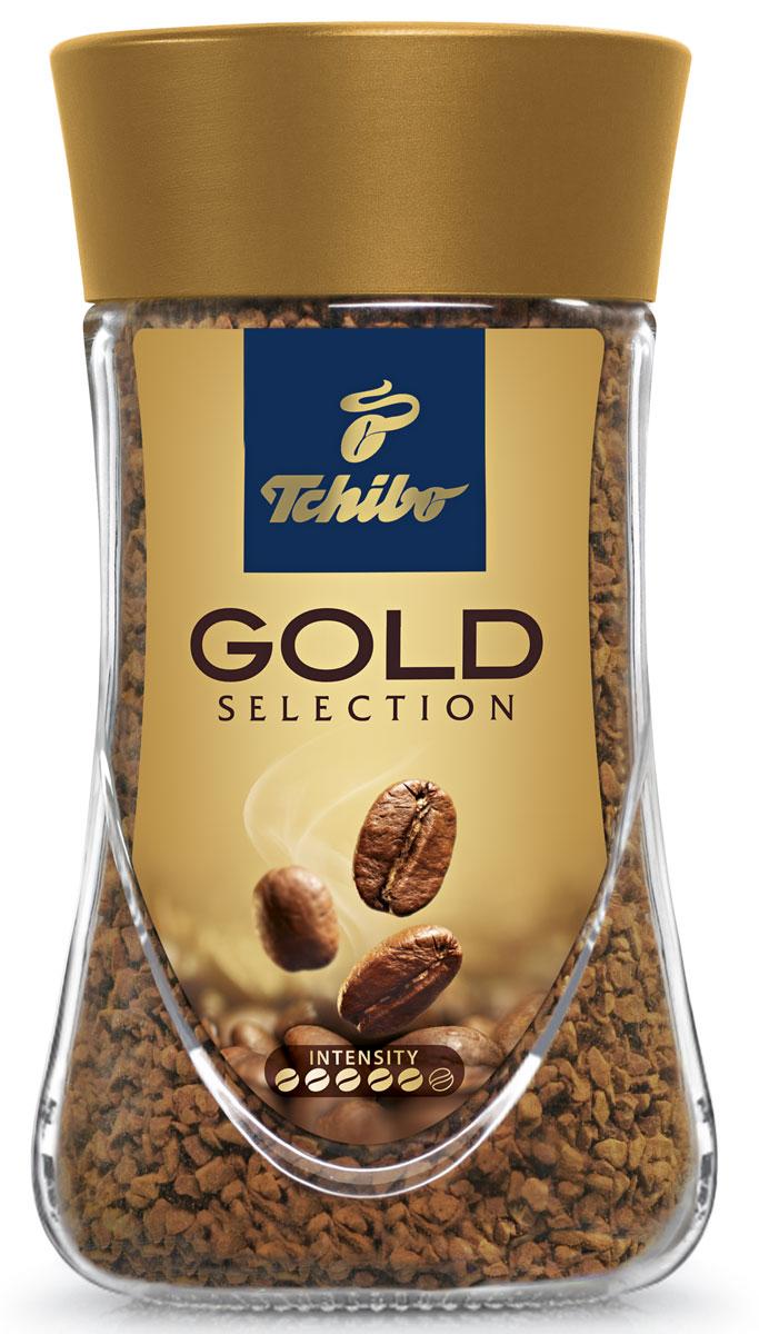 Tchibo Gold Selection кофе растворимый, 95 г