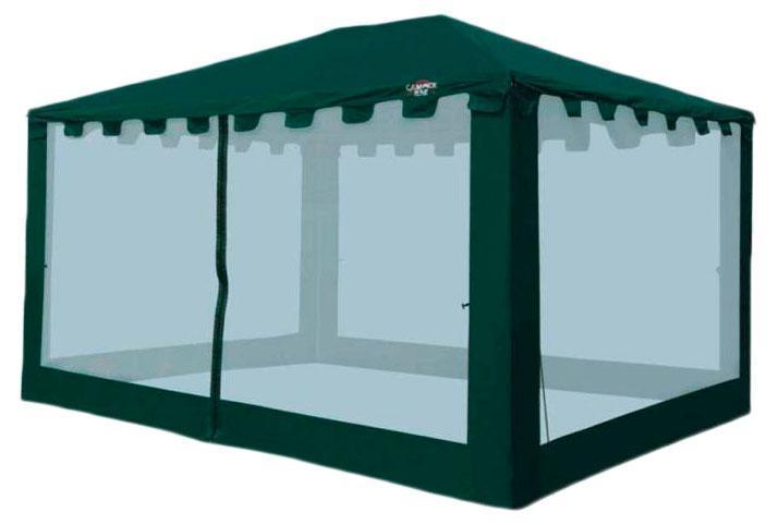 Тент CAMPACK-TENT G-3401,цвет: темно-зеленый38412Самая большая модель в G-серии. 4 на 3 метра. В 2013 году получила усиленный каркас из труб с толщиной стенки 0,8 мм. Два входа обеспечивают комфортное использование, москитная сетка защищает от надоедливых насекомых. Ткань тента: 190T P. Taffeta PU 3000MM Сетка: No-See-Um Mesh Стойки: Сталь 25 мм, 19 мм, 16 мм.