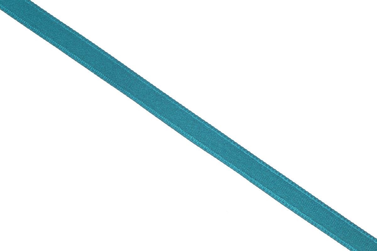 Лента атласная Prym, цвет: морская волна, ширина 6 мм, длина 25 м697070_50Атласная лента Prym изготовлена из 100% полиэстера. Область применения атласной ленты весьма широка. Изделие предназначено для оформления цветочных букетов, подарочных коробок, пакетов. Кроме того, она с успехом применяется для художественного оформления витрин, праздничного оформления помещений, изготовления искусственных цветов. Ее также можно использовать для творчества в различных техниках, таких как скрапбукинг, оформление аппликаций, для украшения фотоальбомов, подарков, конвертов, фоторамок, открыток и многого другого. Ширина ленты: 6 мм. Длина ленты: 25 м.