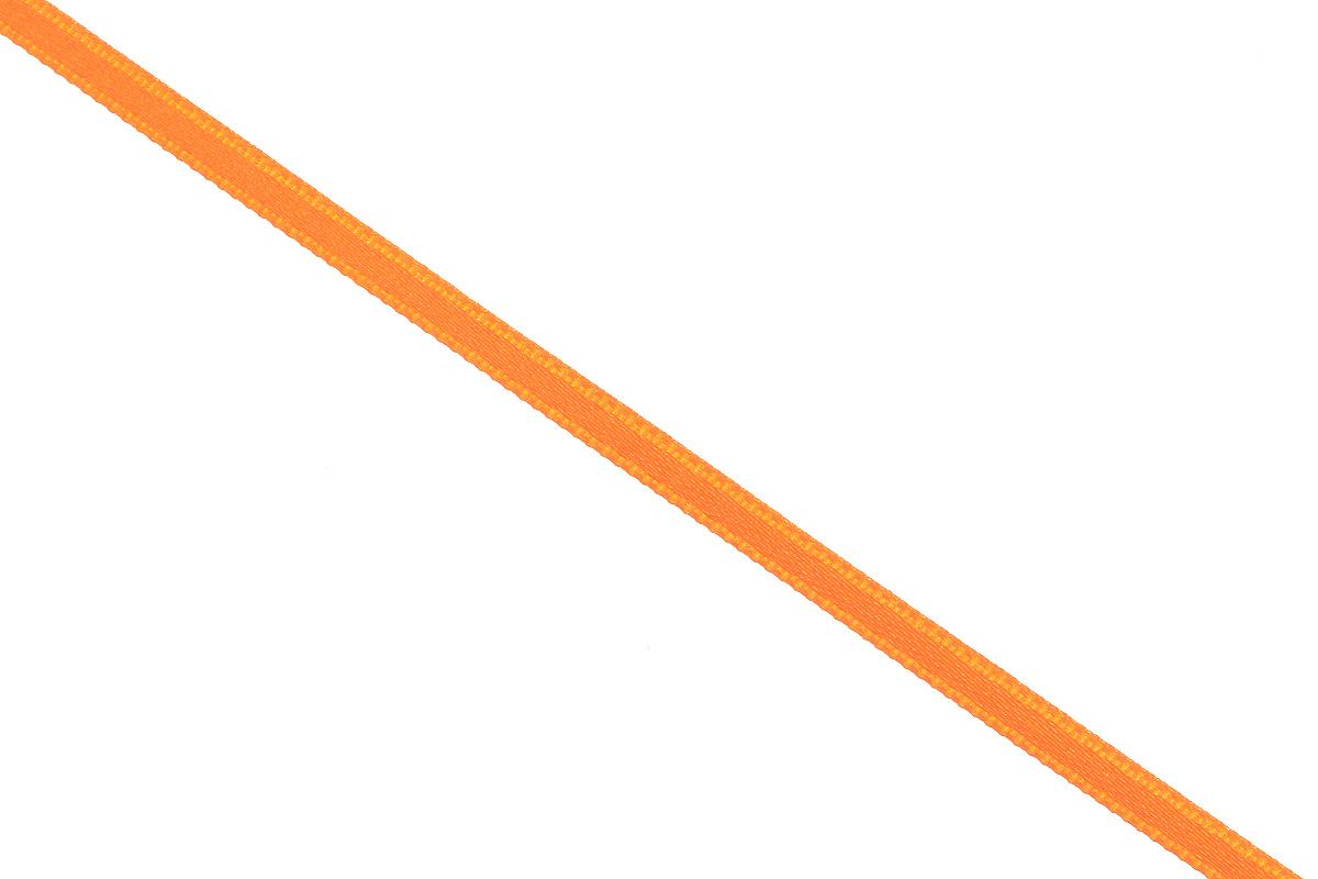 Лента атласная Prym, цвет: оранжевый, ширина 3 мм, длина 50 м697069_30Атласная лента Prym изготовлена из 100% полиэстера. Область применения атласной ленты весьма широка. Изделие предназначено для оформления цветочных букетов, подарочных коробок, пакетов. Кроме того, она с успехом применяется для художественного оформления витрин, праздничного оформления помещений, изготовления искусственных цветов. Ее также можно использовать для творчества в различных техниках, таких как скрапбукинг, оформление аппликаций, для украшения фотоальбомов, подарков, конвертов, фоторамок, открыток и многого другого. Ширина ленты: 3 мм. Длина ленты: 50 м.