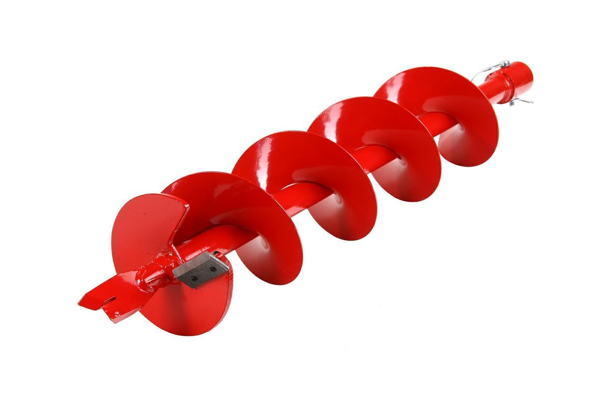 Шнек для грунта Hammer Flex 210-011 6(150мм) X 800мм, к мотобуру с валом 168294В КОРОБКЕ Шнек для грунта Hammerflex 210-011, диаметр 15 см (6), длина 80 см ПРЕИМУЩЕСТВА: Совместимость со всеми мотобурами с диаметром хвостовика 1 (2,5 см) Высококачественная листовая сталь и точечный сварочный шов в местах, испытывающих максимальные нагрузки в процессе бурения, придают шнекам повышенную механическую прочность Процесс предварительного фосфатирования и износостойкое лакокрасочное покрытие обеспечивают длительную защиту от коррозии Угол атаки шнеков позволяет справиться с бурением большинства видов грунта, идеально подойдет для плотной глинистой и суглинистой почвы Сменные режущие пластины из нержавеющей стали 4Сr13 и наконечники из легированной стали №35 отличаются высокой износостойкостью, эффективно противостоят механическим повреждениям, а также обладают необходимым запасом гибкости, что позволяет им не разрушаться при резком столкновении с твердым предметом (камнем) КОМПЛЕКТАЦИЯ: Шнек-1шт Нож - 2шт (установлены) Наконечник -...