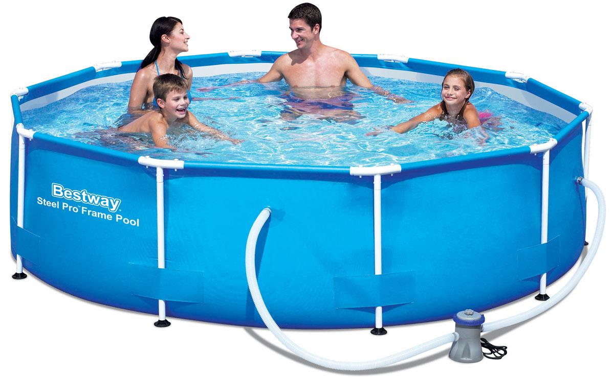 Каркасный бассейн Bestway с фильтр-насосом. 5640856408