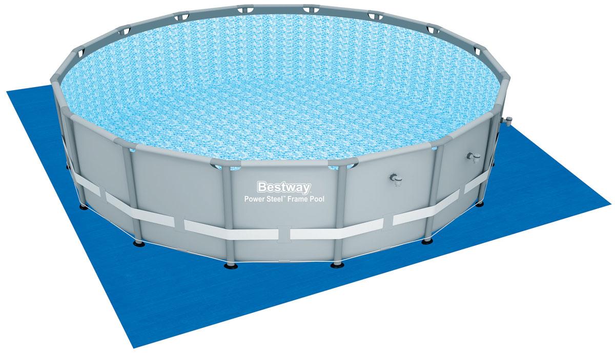 Подстилка для бассейнов Bestway, 520 х 520 см. 5825158251Подстилка Bestway подходит для бассейнов со стальной рамой Power Steel диаметром 488 см. Выполнена из нового износостойкого материала. Подстилка отлично защищает дно бассейна. Размер подстилки: 520 х 520 см. Диаметр бассейна: 488 см.