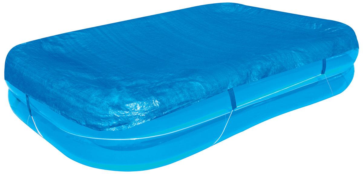 Bestway Тент для прямоугольных надувных бассейнов, 295 х 220 см. 5831958319Тент Bestway подходит для прямоугольного семейного бассейна размером 262 х 175 х 50,5 см. Выполнен из высококачественного полиэтилена. В комплекте шнуры для крепления крышки. Сливные отверстия предотвращают скопление воды. Размер тента: 295 х 220 см. Размер бассейна: 262 х 175 х 50,5 см.
