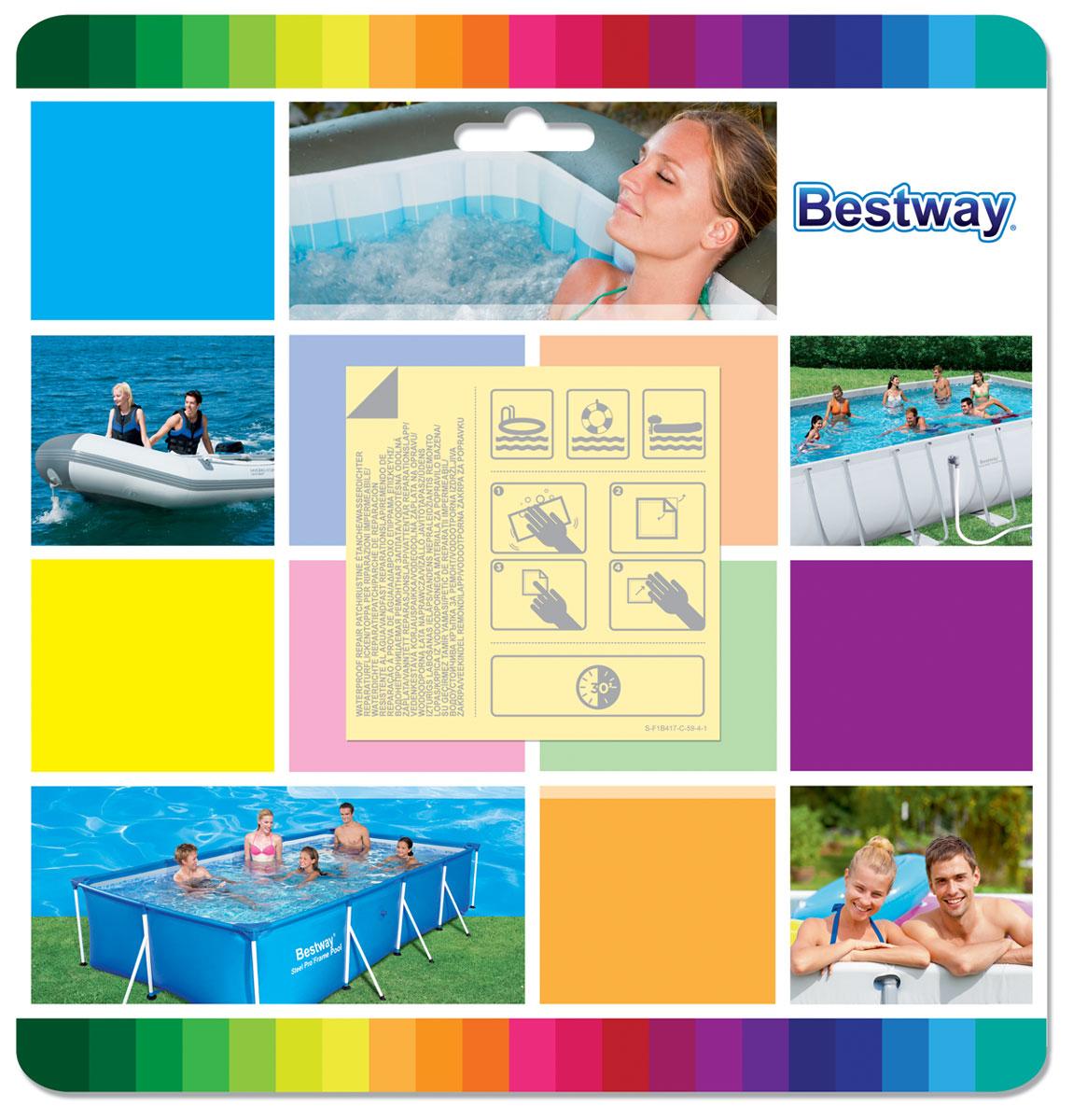 Ремонтный набор Bestway водостойкий. 62091