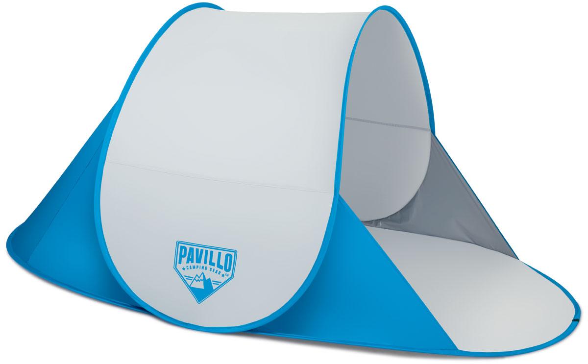 Bestway Палатка пляжная Secura, 192 х 120 х 85 см. 6804568045Легко собирается. Внутри кармашек для хранения личных вещей. Изготовлено из полиэстера и полимерных материалов. Размер: 200 х 130 х 90 см.