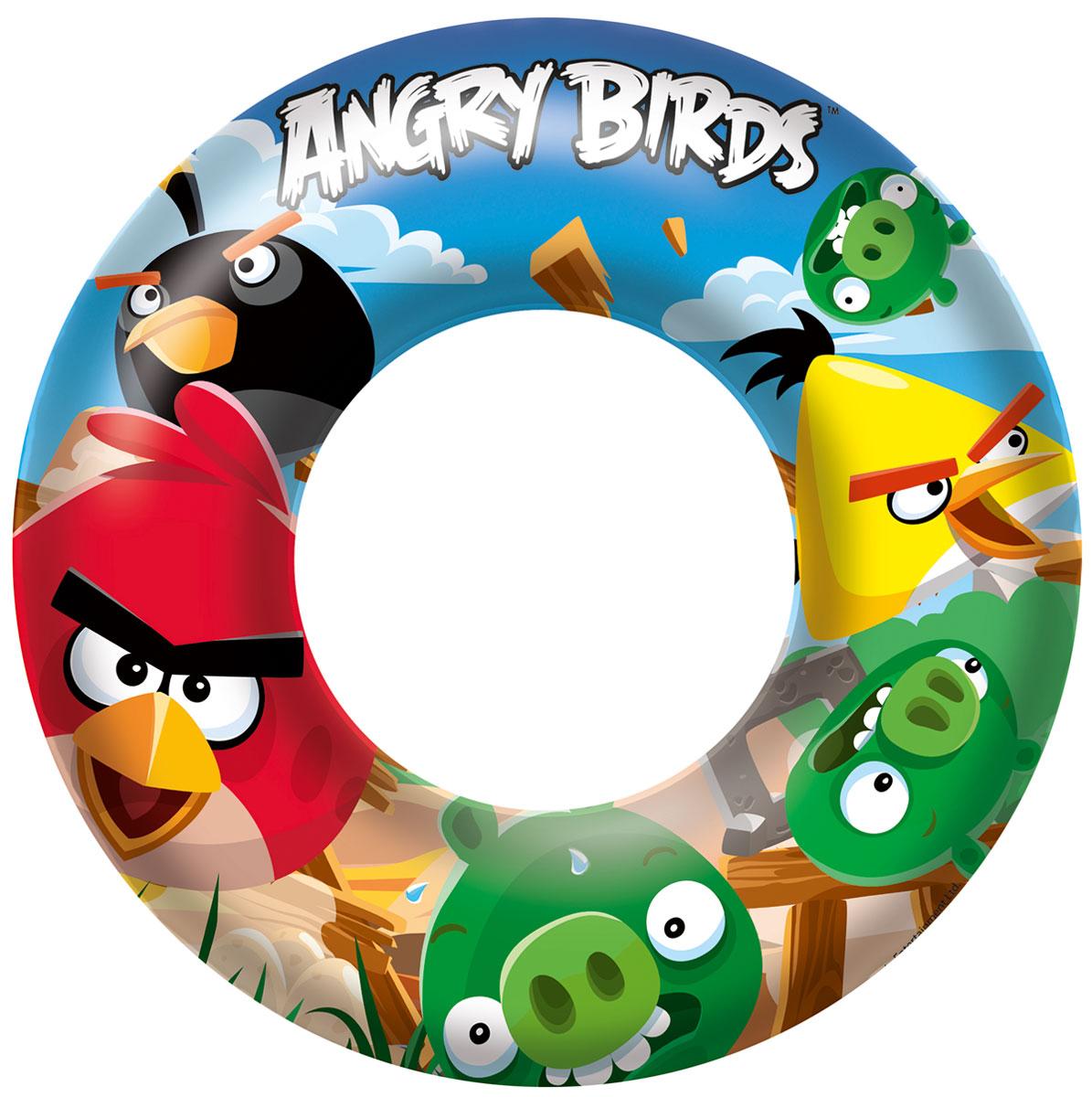 Надувной круг Bestway Angry Birds. 96102 ( 96102 )