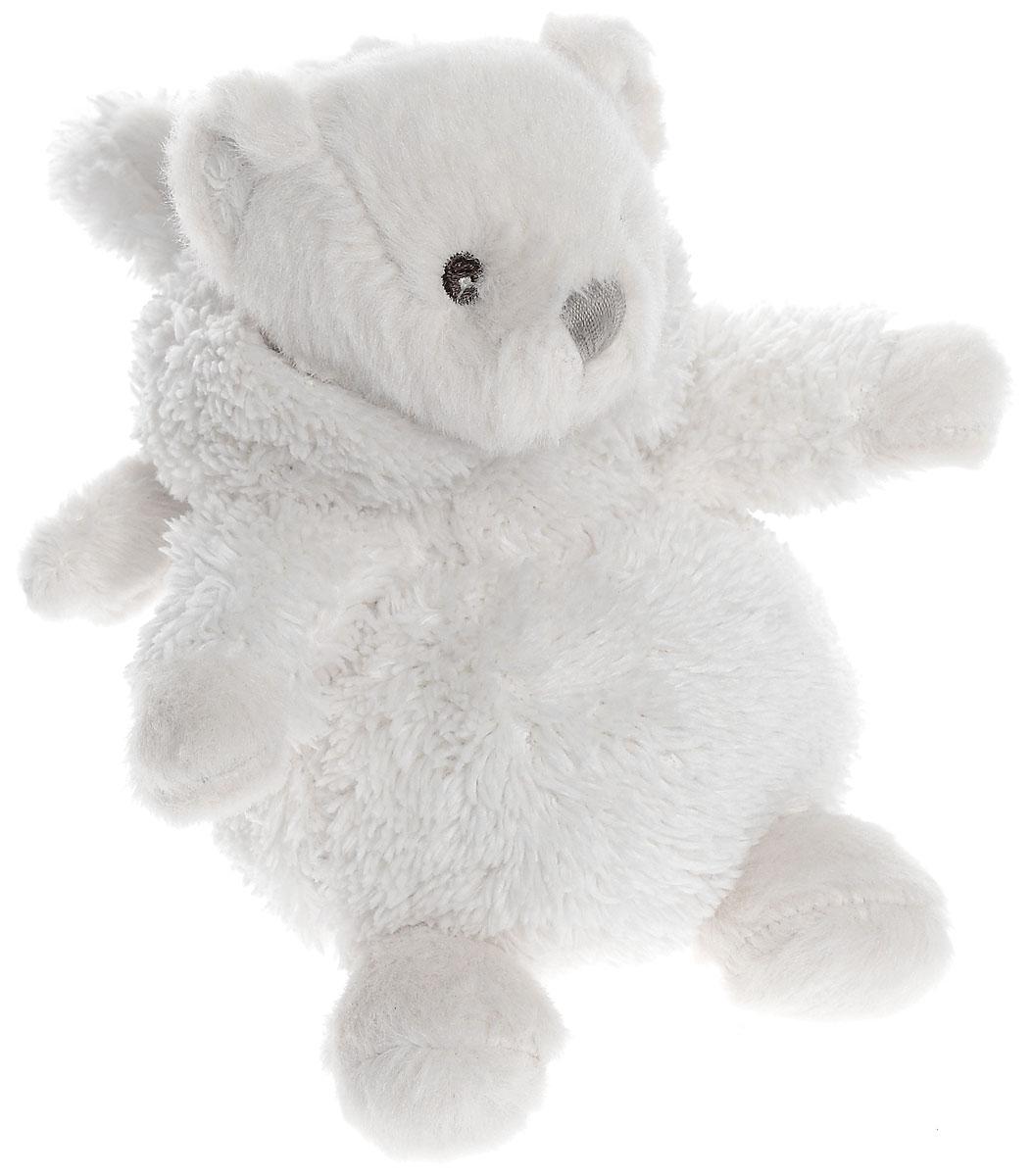 Объект мечты Мягкая игрушка Ангельский мишка 18 см82806Очаровательная мягкая игрушка Объект мечты Ангельский мишка не оставит вас равнодушными и вызовет улыбку у каждого, кто ее увидит. Игрушка выполнена из полиэстера в виде милого трогательного зайчика. Зайчик легко превращается в мишку, достаточно лишь снять капюшон с заячьими ушами. У зайчика за спиной - маленькие крылья, ведь он - ангельский и создан для полета вашей мечты! Петля из атласной ленты на спинке зайчика позволяет ему удобно расположиться там, где захочется. Мягкая и приятная на ощупь игрушка станет замечательным подарком, который вызовет массу положительных эмоций.