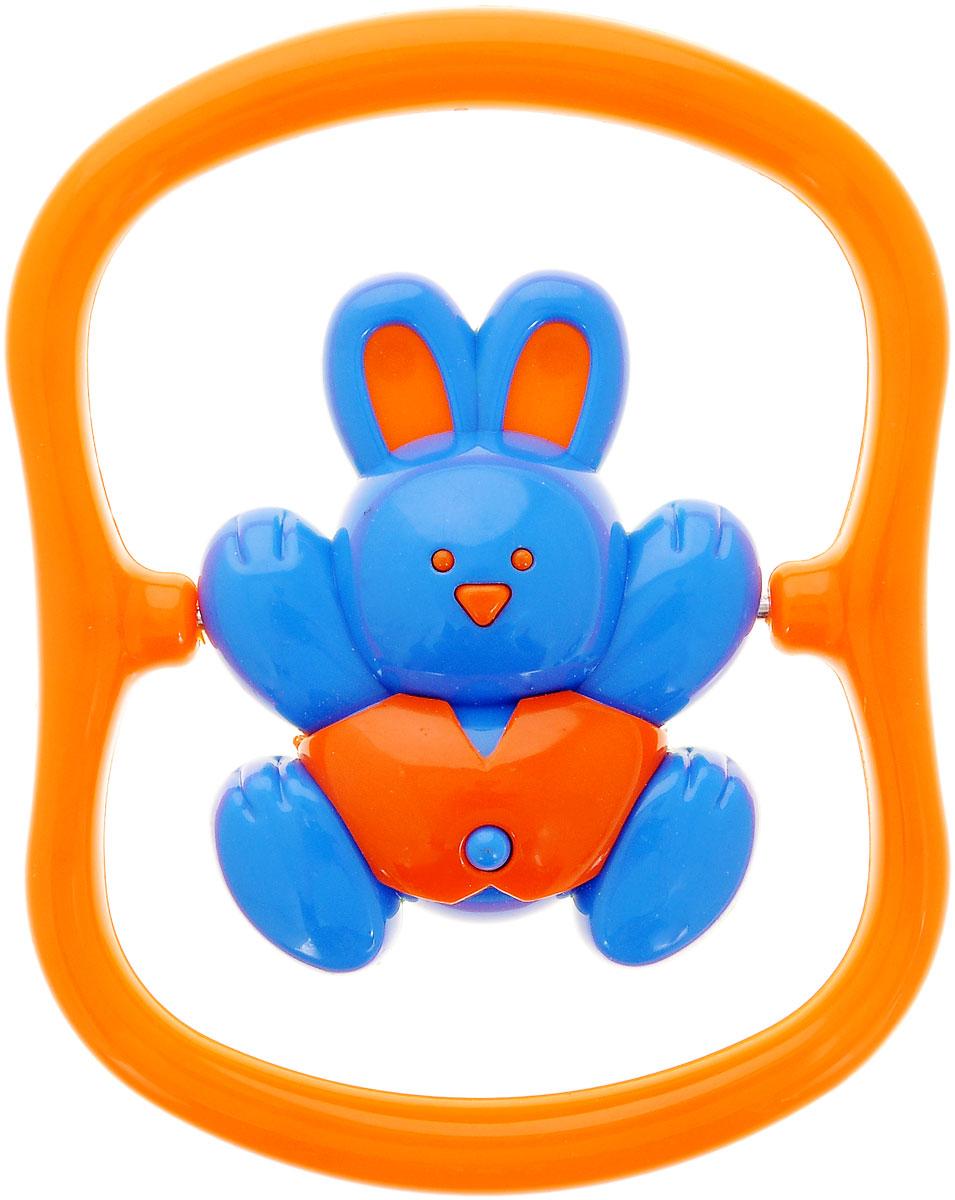Малышарики Погремушка Зайка на качелях цвет оранжевыйMSH0302-011Погремушка Малышарики Зайка на качелях непременно привлечет внимание вашего малыша. С первых месяцев жизни ребенок начинает интересоваться яркими, подвижными предметами, ведь они являются его главными помощниками в изучении нашего удивительного мира. Забавная погремушка Зайка на качелях поможет малышу научиться фокусировать внимание, различать звуки и знакомиться с формами. Игрушка развивает мелкую моторику и слуховое восприятие. Выполнена в ярком дизайне и из безопасных материалов. Рекомендуемый возраст от 0 до 1 года.