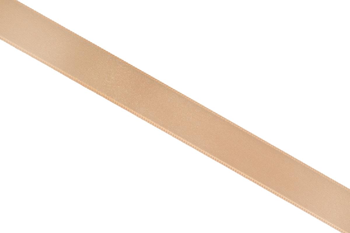 Лента атласная Prym, цвет: темно-бежевый, ширина 15 мм, длина 25 м695803_24Атласная лента Prym изготовлена из 100% полиэстера. Область применения атласной ленты весьма широка. Изделие предназначено для оформления цветочных букетов, подарочных коробок, пакетов. Кроме того, она с успехом применяется для художественного оформления витрин, праздничного оформления помещений, изготовления искусственных цветов. Ее также можно использовать для творчества в различных техниках, таких как скрапбукинг, оформление аппликаций, для украшения фотоальбомов, подарков, конвертов, фоторамок, открыток и многого другого. Ширина ленты: 15 мм. Длина ленты: 25 м.