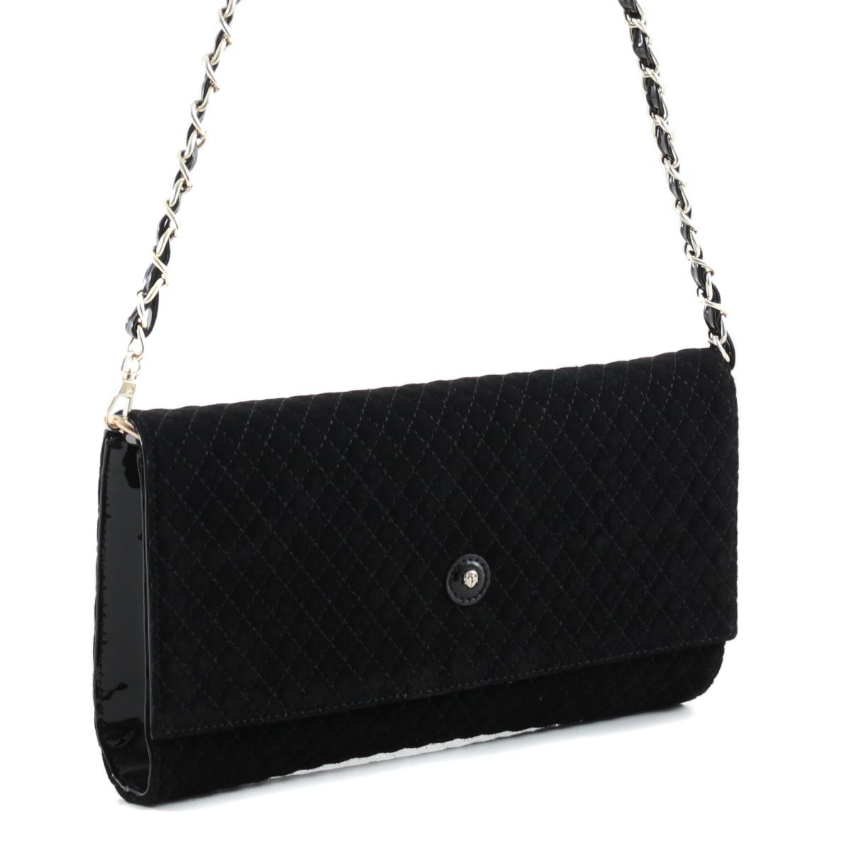 Клатч женский Fiato, цвет: черный. 34136