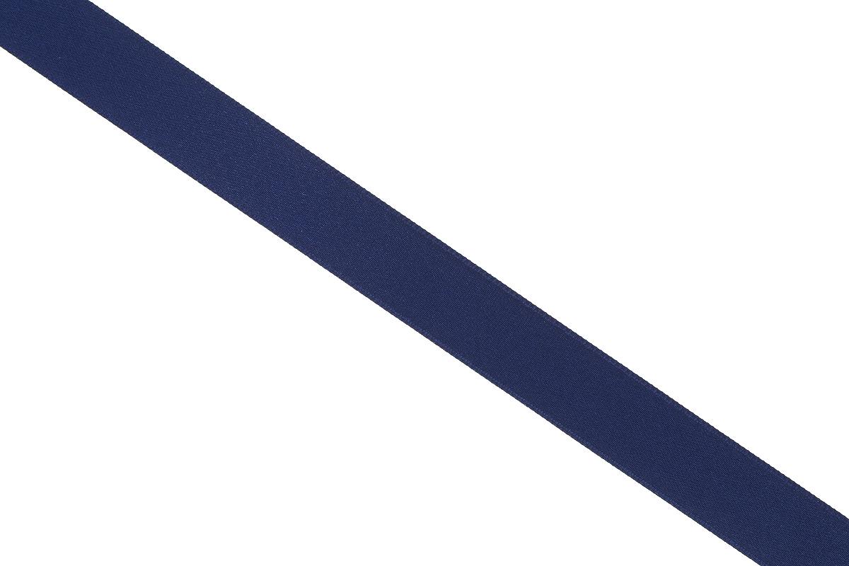 Лента атласная Prym, цвет: темно-синий, ширина 15 мм, длина 25 м695803_57Атласная лента Prym изготовлена из 100% полиэстера. Область применения атласной ленты весьма широка. Изделие предназначено для оформления цветочных букетов, подарочных коробок, пакетов. Кроме того, она с успехом применяется для художественного оформления витрин, праздничного оформления помещений, изготовления искусственных цветов. Ее также можно использовать для творчества в различных техниках, таких как скрапбукинг, оформление аппликаций, для украшения фотоальбомов, подарков, конвертов, фоторамок, открыток и многого другого. Ширина ленты: 15 мм. Длина ленты: 25 м.
