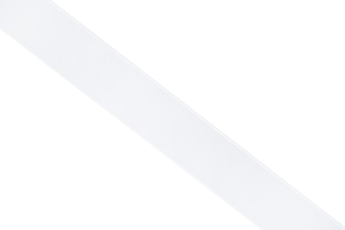 Лента атласная Prym, цвет: белый, ширина 25 мм, длина 25 м695804_10Атласная лента Prym изготовлена из 100% полиэстера. Область применения атласной ленты весьма широка. Изделие предназначено для оформления цветочных букетов, подарочных коробок, пакетов. Кроме того, она с успехом применяется для художественного оформления витрин, праздничного оформления помещений, изготовления искусственных цветов. Ее также можно использовать для творчества в различных техниках, таких как скрапбукинг, оформление аппликаций, для украшения фотоальбомов, подарков, конвертов, фоторамок, открыток и многого другого. Ширина ленты: 25 мм. Длина ленты: 25 м.