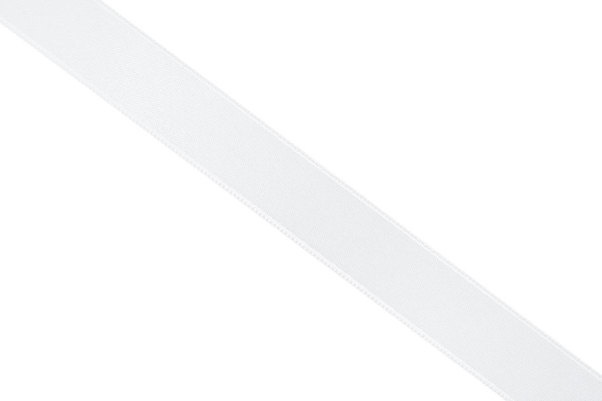 Лента атласная Prym, цвет: белый, ширина 15 мм, длина 25 м695803_10Атласная лента Prym изготовлена из 100% полиэстера. Область применения атласной ленты весьма широка. Изделие предназначено для оформления цветочных букетов, подарочных коробок, пакетов. Кроме того, она с успехом применяется для художественного оформления витрин, праздничного оформления помещений, изготовления искусственных цветов. Ее также можно использовать для творчества в различных техниках, таких как скрапбукинг, оформление аппликаций, для украшения фотоальбомов, подарков, конвертов, фоторамок, открыток и многого другого. Ширина ленты: 15 мм. Длина ленты: 25 м.