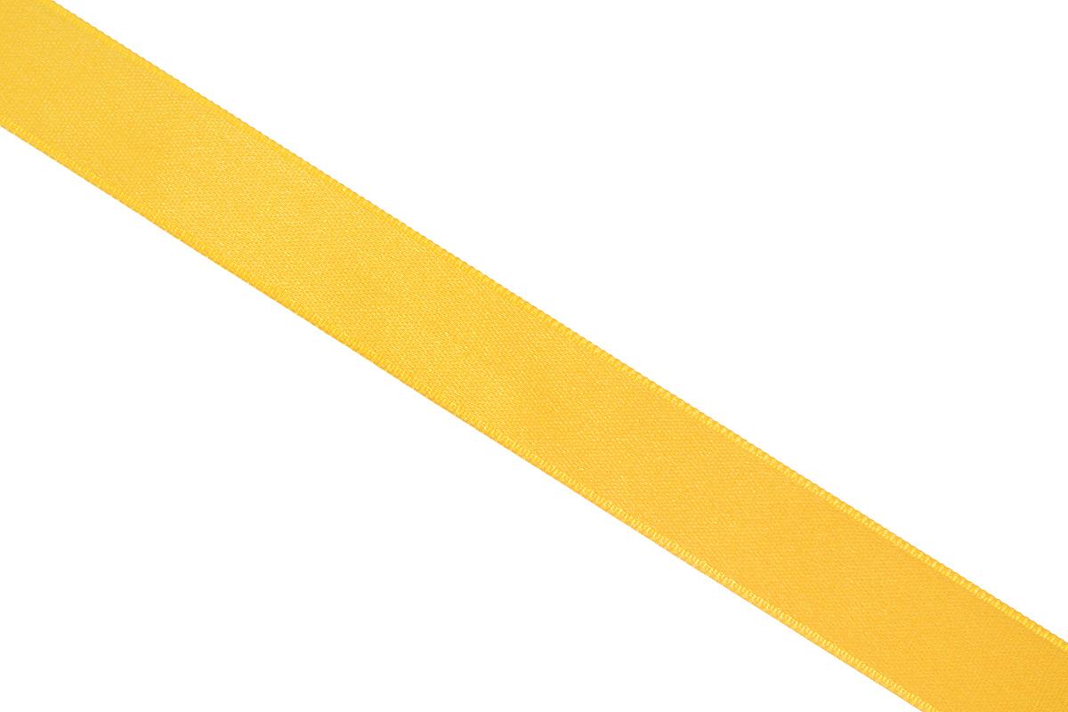 Лента атласная Prym, цвет: золотистый, ширина 15 мм, длина 25 м695803_20Атласная лента Prym изготовлена из 100% полиэстера. Область применения атласной ленты весьма широка. Изделие предназначено для оформления цветочных букетов, подарочных коробок, пакетов. Кроме того, она с успехом применяется для художественного оформления витрин, праздничного оформления помещений, изготовления искусственных цветов. Ее также можно использовать для творчества в различных техниках, таких как скрапбукинг, оформление аппликаций, для украшения фотоальбомов, подарков, конвертов, фоторамок, открыток и многого другого. Ширина ленты: 15 мм. Длина ленты: 25 м.