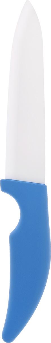 Нож кухонный Miolla, керамический, длина лезвия 17,5 см1508235UНож Miolla изготовлен из высококачественной керамики - гигиеничного, экологически чистого материала. Не требует заточки. Обеспечивает исключительную точность и чистоту нарезки. Экологически чистое, гипоаллергенное, коррозионностойкое лезвие. Не влияет на вкус пищи и не провоцирует возникновение посторонних запахов. Препятствует налипанию и окислению фруктов и овощей в процессе резки. Легкость в уходе - достаточно промыть водой. Общая длина ножа: 30 см.