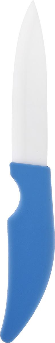 Нож кухонный Miolla, керамический, длина лезвия 15 см1508234UНож Miolla изготовлен из высококачественной керамики - гигиеничного, экологически чистого материала. Не требует заточки. Обеспечивает исключительную точность и чистоту нарезки. Экологически чистое, гипоаллергенное, коррозионностойкое лезвие. Не влияет на вкус пищи и не провоцирует возникновение посторонних запахов. Препятствует налипанию и окислению фруктов и овощей в процессе резки. Легкость в уходе - достаточно промыть водой. Общая длина ножа: 28 см.