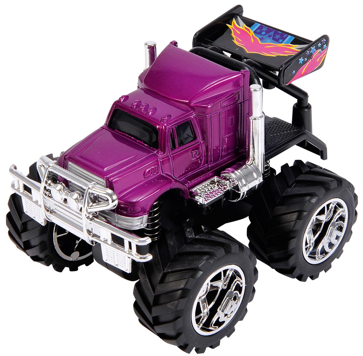 Dickie Toys Джип инерционный 4 x 4 Hill Roader цвет фиолетовый3314837_малиновыйМашинка Dickie Toys Джип 4 x 4 Hill Roader обязательно понравится вашему маленькому гонщику и надолго увлечет его. Игрушка выполнена из безопасного пластика в виде быстрого джипа. Колесики прорезинены, что обеспечивает наилучшее сцепление с полом. Машинка дополнена инерционным ходом - отведите ее назад и отпустите, и машинка быстро поедет вперед. Игры с такой машинкой развивают концентрацию внимания, координацию движений, мелкую и крупную моторику, цветовое восприятие и воображение. Малыш будет часами играть с этой машинкой, придумывая разные истории. Порадуйте своего ребенка таким замечательным подарком!