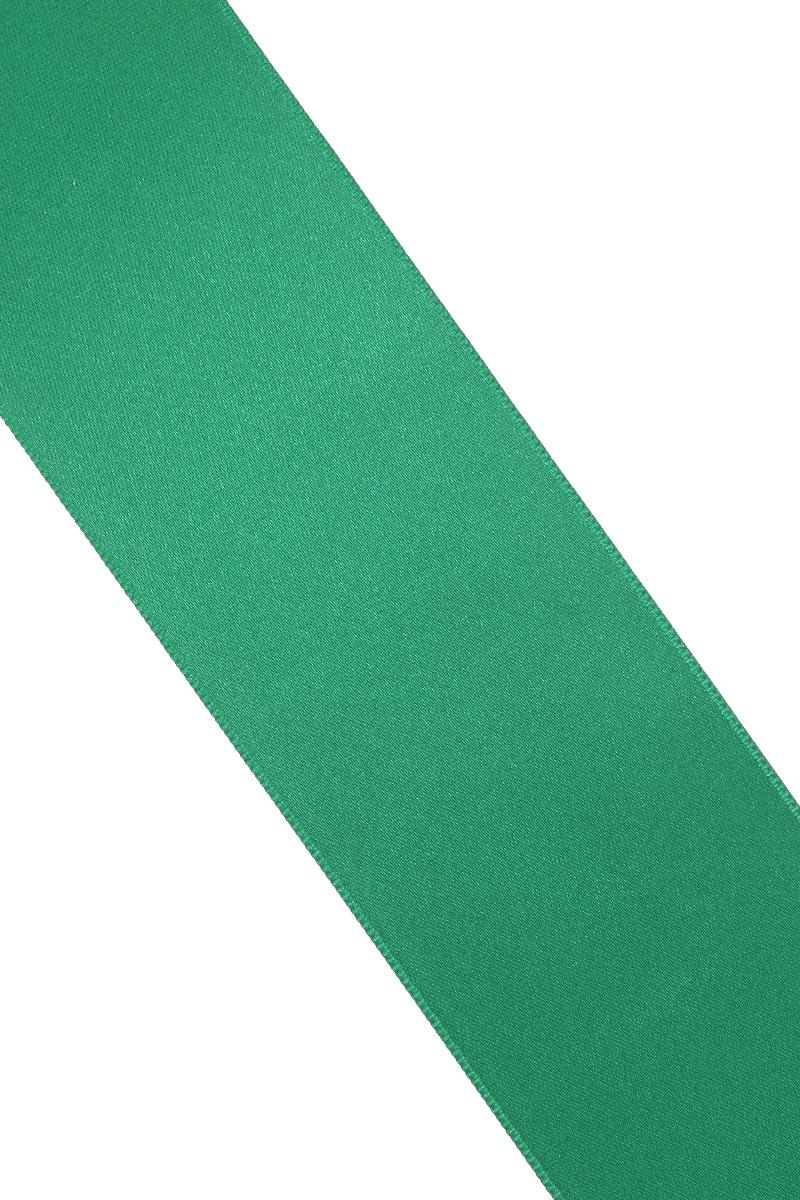 Лента атласная Prym, цвет: зеленый, ширина 50 мм, длина 25 м695807_43Атласная лента Prym изготовлена из 100% полиэстера. Область применения атласной ленты весьма широка. Изделие предназначено для оформления цветочных букетов, подарочных коробок, пакетов. Кроме того, она с успехом применяется для художественного оформления витрин, праздничного оформления помещений, изготовления искусственных цветов. Ее также можно использовать для творчества в различных техниках, таких как скрапбукинг, оформление аппликаций, для украшения фотоальбомов, подарков, конвертов, фоторамок, открыток и многого другого. Ширина ленты: 50 мм. Длина ленты: 25 м.