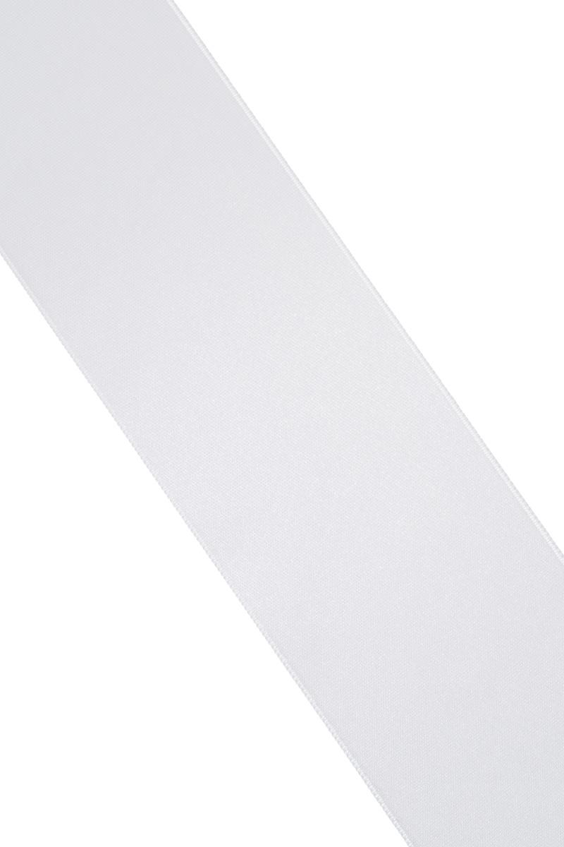 Лента атласная Prym, цвет: серебристый, ширина 50 мм, длина 25 м695807_6Атласная лента Prym изготовлена из 100% полиэстера. Область применения атласной ленты весьма широка. Изделие предназначено для оформления цветочных букетов, подарочных коробок, пакетов. Кроме того, она с успехом применяется для художественного оформления витрин, праздничного оформления помещений, изготовления искусственных цветов. Ее также можно использовать для творчества в различных техниках, таких как скрапбукинг, оформление аппликаций, для украшения фотоальбомов, подарков, конвертов, фоторамок, открыток и многого другого. Ширина ленты: 50 мм. Длина ленты: 25 м.