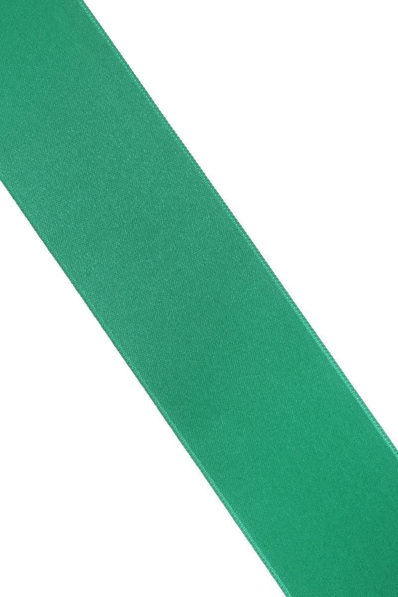 Лента атласная Prym, цвет: зеленый, ширина 38 мм, длина 25 м695806_43Атласная лента Prym изготовлена из 100% полиэстера. Область применения атласной ленты весьма широка. Изделие предназначено для оформления цветочных букетов, подарочных коробок, пакетов. Кроме того, она с успехом применяется для художественного оформления витрин, праздничного оформления помещений, изготовления искусственных цветов. Ее также можно использовать для творчества в различных техниках, таких как скрапбукинг, оформление аппликаций, для украшения фотоальбомов, подарков, конвертов, фоторамок, открыток и многого другого. Ширина ленты: 38 мм. Длина ленты: 25 м.