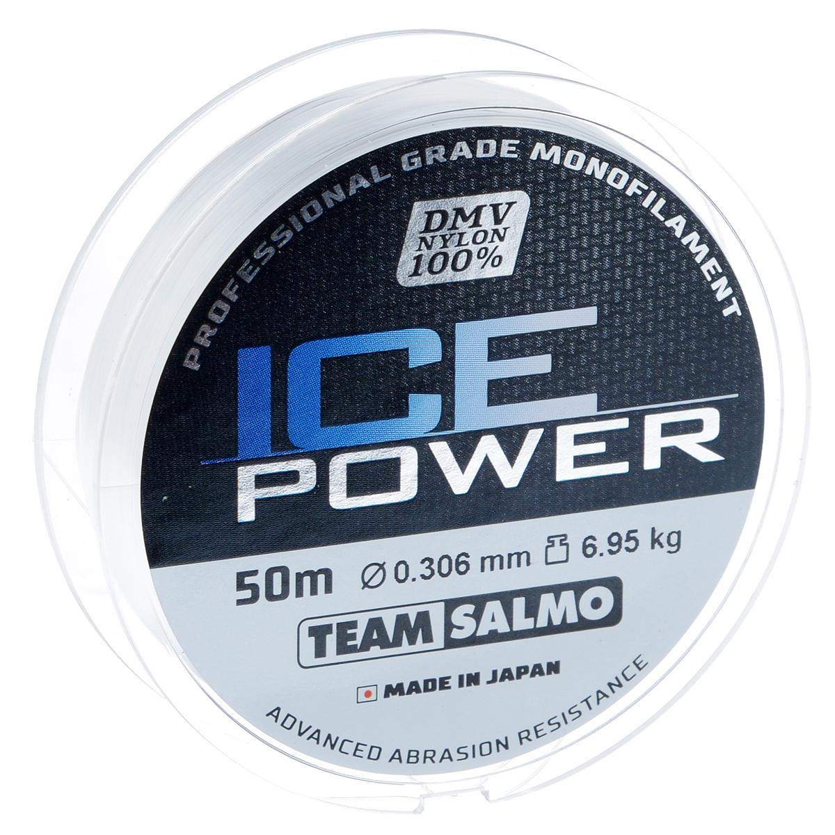 """Леска монофильная Team Salmo """"Ice Power"""", сечение 0,306 мм, длина 50 м TS4924-030"""