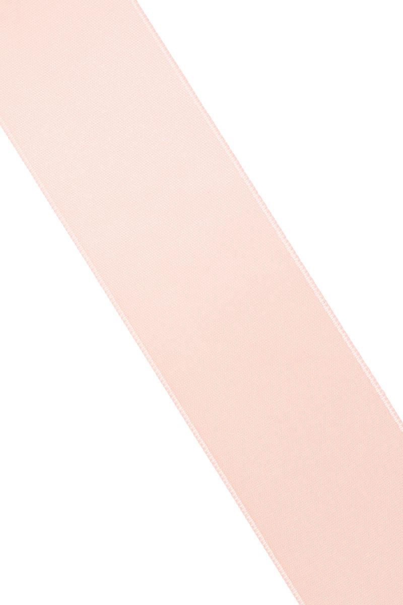 Лента атласная Prym, цвет: персиковый, ширина 38 мм, длина 25 м695806_84Атласная лента Prym изготовлена из 100% полиэстера. Область применения атласной ленты весьма широка. Изделие предназначено для оформления цветочных букетов, подарочных коробок, пакетов. Кроме того, она с успехом применяется для художественного оформления витрин, праздничного оформления помещений, изготовления искусственных цветов. Ее также можно использовать для творчества в различных техниках, таких как скрапбукинг, оформление аппликаций, для украшения фотоальбомов, подарков, конвертов, фоторамок, открыток и многого другого. Ширина ленты: 38 мм. Длина ленты: 25 м.