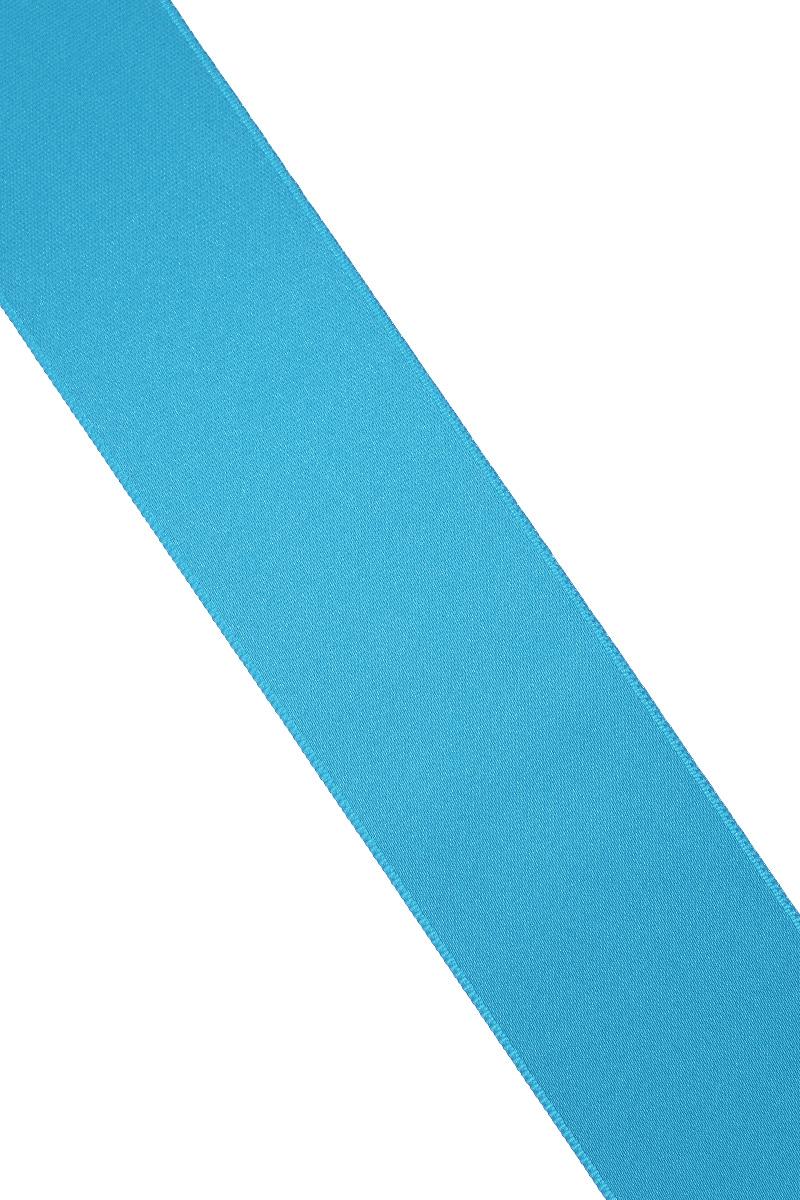 Лента атласная Prym, цвет: лазурный, ширина 38 мм, длина 25 м695806_93Атласная лента Prym изготовлена из 100% полиэстера. Область применения атласной ленты весьма широка. Изделие предназначено для оформления цветочных букетов, подарочных коробок, пакетов. Кроме того, она с успехом применяется для художественного оформления витрин, праздничного оформления помещений, изготовления искусственных цветов. Ее также можно использовать для творчества в различных техниках, таких как скрапбукинг, оформление аппликаций, для украшения фотоальбомов, подарков, конвертов, фоторамок, открыток и многого другого. Ширина ленты: 38 мм. Длина ленты: 25 м.
