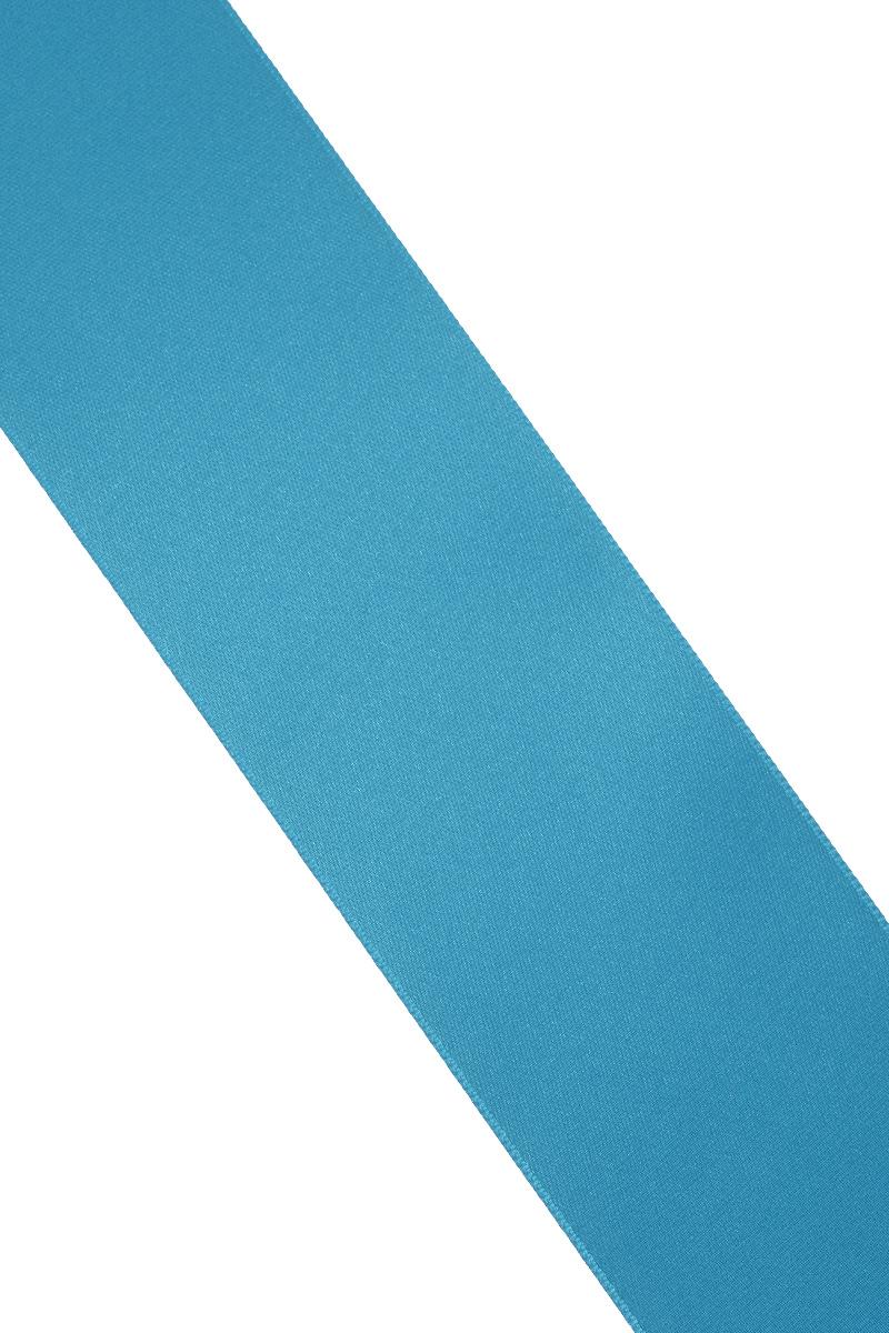 Лента атласная Prym, цвет: лазурный, ширина 50 мм, длина 25 м695807_93Атласная лента Prym изготовлена из 100% полиэстера. Область применения атласной ленты весьма широка. Изделие предназначено для оформления цветочных букетов, подарочных коробок, пакетов. Кроме того, она с успехом применяется для художественного оформления витрин, праздничного оформления помещений, изготовления искусственных цветов. Ее также можно использовать для творчества в различных техниках, таких как скрапбукинг, оформление аппликаций, для украшения фотоальбомов, подарков, конвертов, фоторамок, открыток и многого другого. Ширина ленты: 50 мм. Длина ленты: 25 м.