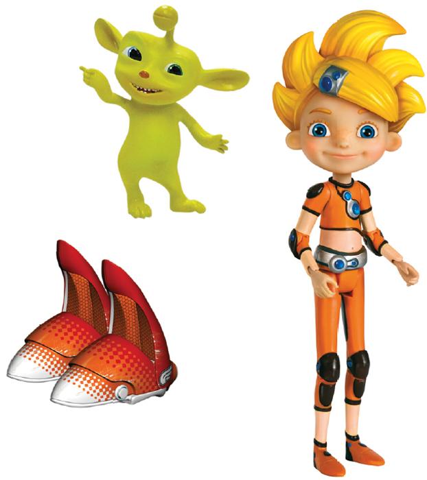 Алиса знает, что делать! Игровой набор с Алисой Селезнёвой, Пупером и БалунамиТ56895На Земле 2093 год. 12-летние московские школьники - Алиса Селезнёва и ее друзья - отправляются в невероятные приключения по просторам Галактики. Фигурка-игрушка с подвижными частями тела - головой, руками, ногами, полностью повторяет персонажа мультфильма! В игровой набор с фигуркой Алисы входит ее любимец и проказник Истинокс Пупер, и фантастическое средство передвижения школьников будущего - летающие ботинки Балуны. Они легко надеваются на ножки Алисы и помогают создать завершенный игровой образ из сериала. Собери всю команду и отправляйся вместе с героями сериала Алиса знает, что делать! в головокружительное путешествие!
