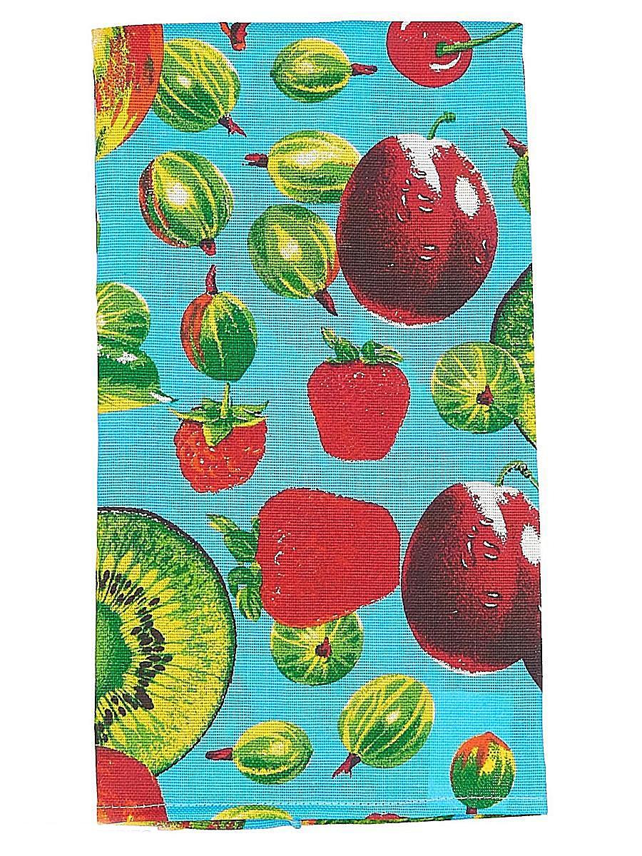 Скатерть Letto, прямоугольная, цвет: синий, 145 x 180 см. KSR09-180KSR09-180Скатерть Letto выполнена из 100% хлопка (рогожка) и декорирована ярким изображением ягод и фруктов. Изысканный дизайн дополнит интерьер, а натуральная мягкая ткань приятна на ощупь и обладает прекрасным впитывающим свойством. Оригинальная скатерть Letto - отличное приобретение для каждой хозяйки!