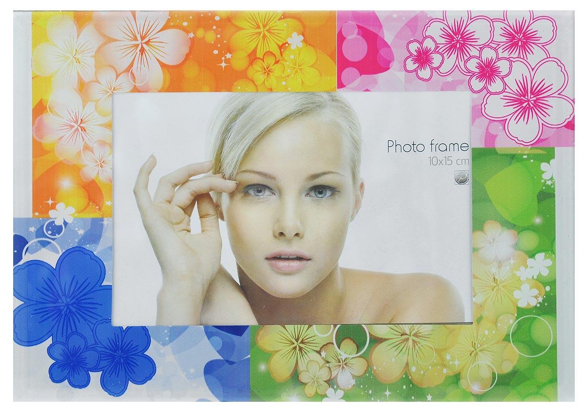 Фоторамка Pioneer Assorted. Разноцветные цветы, 10 х 15 см16868JS2011-334/335/336/3_синий, оранжевый, розовый, салатовыйФоторамка Pioneer Assorted. Разноцветные цветы выполнена из высококачественного стекла, защищающего фотографию. Изделие оформлено изысканным рисунком. Оборотная сторона рамки оснащена специальной ножкой, благодаря которой ее можно поставить на стол или любое другое место в доме или офисе. Такая фоторамка поможет вам оригинально и стильно дополнить интерьер помещения, а также позволит сохранить память о дорогих вам людях и интересных событиях вашей жизни.