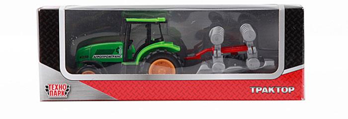ТехноПарк Трактор Агропромтранс x250 с сеялкой ( 20219-R_сеялка )