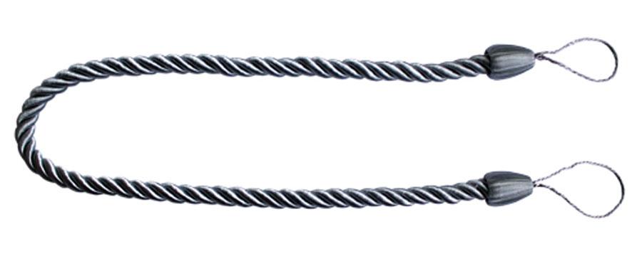 Подхват для штор Goodliving Шнур, цвет: серебристый (10), 2 шт7711742_10 серебряныйПодхват для штор Goodliving Шнур выполнен в виде витого шнура, на обоих концах которого имеются петли для крепления подхвата на крючок. Подхват - это основной вид фурнитуры в декоре штор, сочетающий в себе не только декоративную функцию, но и практическую - регулировать поток света. Подхваты способны украсить любую комнату. Длина подхвата: 52 см. Диаметр подхвата: 1,5 см.