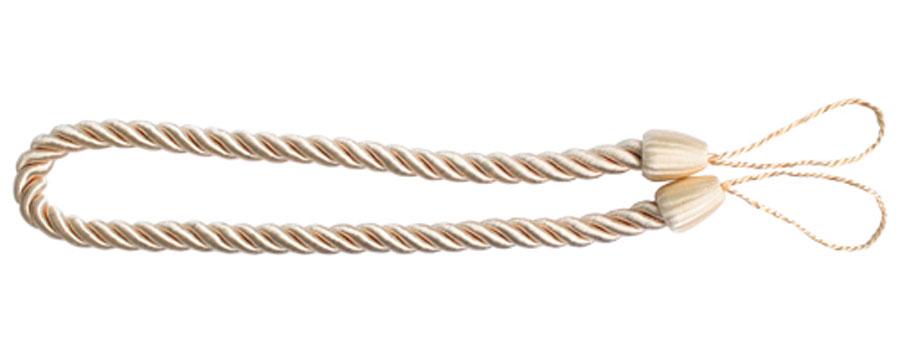 Подхват для штор Goodliving Шнур, цвет: розовато-бежевый (59), 2 шт7711742_59 розовато-бежевыйПодхват для штор Goodliving Шнур выполнен в виде витого шнура, на обоих концах которого имеются петли для крепления подхвата на крючок. Подхват - это основной вид фурнитуры в декоре штор, сочетающий в себе не только декоративную функцию, но и практическую - регулировать поток света. Подхваты способны украсить любую комнату. Длина подхвата: 52 см. Диаметр подхвата: 1,5 см.