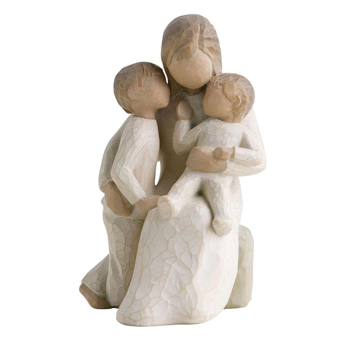 Фигурка Willow Tree Спокойствие, 13,5 см26100Эти прекрасные статуэтки созданы канадским скульптором Сьюзан Лорди. Каждая фигурка – это настоящее произведение искусства, образная скульптура в миниатюре, изображающая эмоции и чувства, которые помогают нам чувствовать себя ближе к другим, верить в мечту, выражать любовь. Каждая фигурка помещена в красивую упаковку. Купить такой оригинальный подарок, значит не только украсить интерьер помещения или жилой комнаты, но выразить свое глубокое отношение к любимому человеку. Этот прекрасный сувенир будет лучшим подарком на день ангела, именины, день рождения, юбилей. Материал: Искусственный камень (49% карбонат кальция мелкозернистой разновидности, 51% искусственный камень)