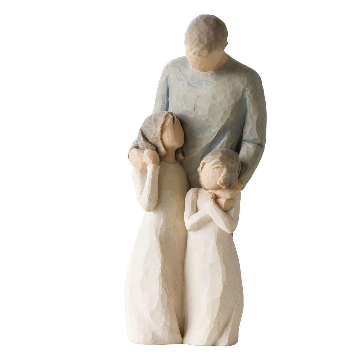 Фигурка Willow Tree Мои девочки, 20,5 см26232Эти прекрасные статуэтки созданы канадским скульптором Сьюзан Лорди. Каждая фигурка – это настоящее произведение искусства, образная скульптура в миниатюре, изображающая эмоции и чувства, которые помогают нам чувствовать себя ближе к другим, верить в мечту, выражать любовь. Каждая фигурка помещена в красивую упаковку. Купить такой оригинальный подарок, значит не только украсить интерьер помещения или жилой комнаты, но выразить свое глубокое отношение к любимому человеку. Этот прекрасный сувенир будет лучшим подарком на день ангела, именины, день рождения, юбилей. Материал: Искусственный камень (49% карбонат кальция мелкозернистой разновидности, 51% искусственный камень)