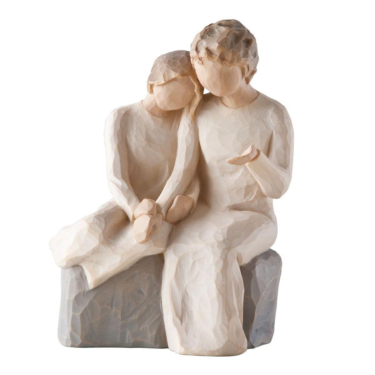 Фигурка Willow Tree С моей бабушкой, 14,5 см26244Эти прекрасные статуэтки созданы канадским скульптором Сьюзан Лорди. Каждая фигурка – это настоящее произведение искусства, образная скульптура в миниатюре, изображающая эмоции и чувства, которые помогают нам чувствовать себя ближе к другим, верить в мечту, выражать любовь. Каждая фигурка помещена в красивую упаковку. Купить такой оригинальный подарок, значит не только украсить интерьер помещения или жилой комнаты, но выразить свое глубокое отношение к любимому человеку. Этот прекрасный сувенир будет лучшим подарком на день ангела, именины, день рождения, юбилей. Материал: Искусственный камень (49% карбонат кальция мелкозернистой разновидности, 51% искусственный камень)