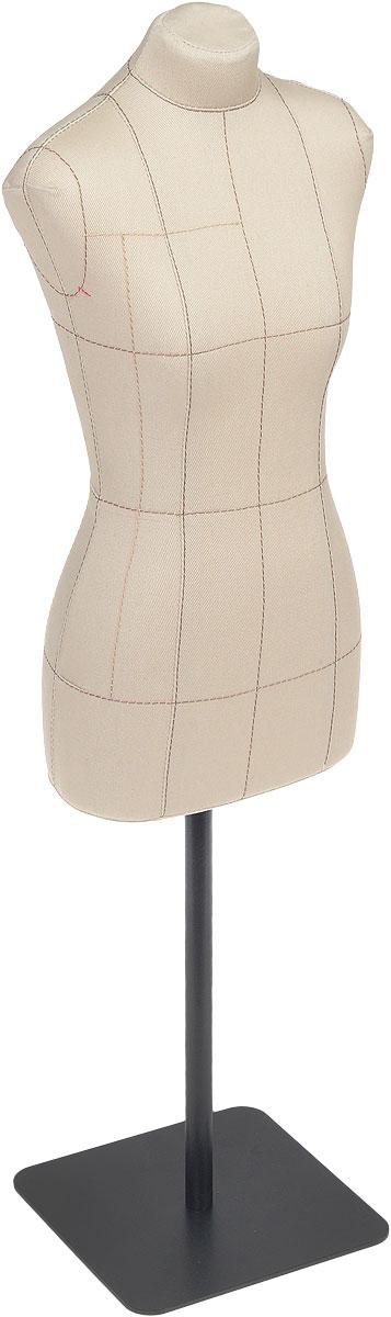 """Манекен масштабный Royal Dress forms """"Betti. Премиум"""", с подставкой, цвет: бежевый. Размер 1: 2 (42)"""
